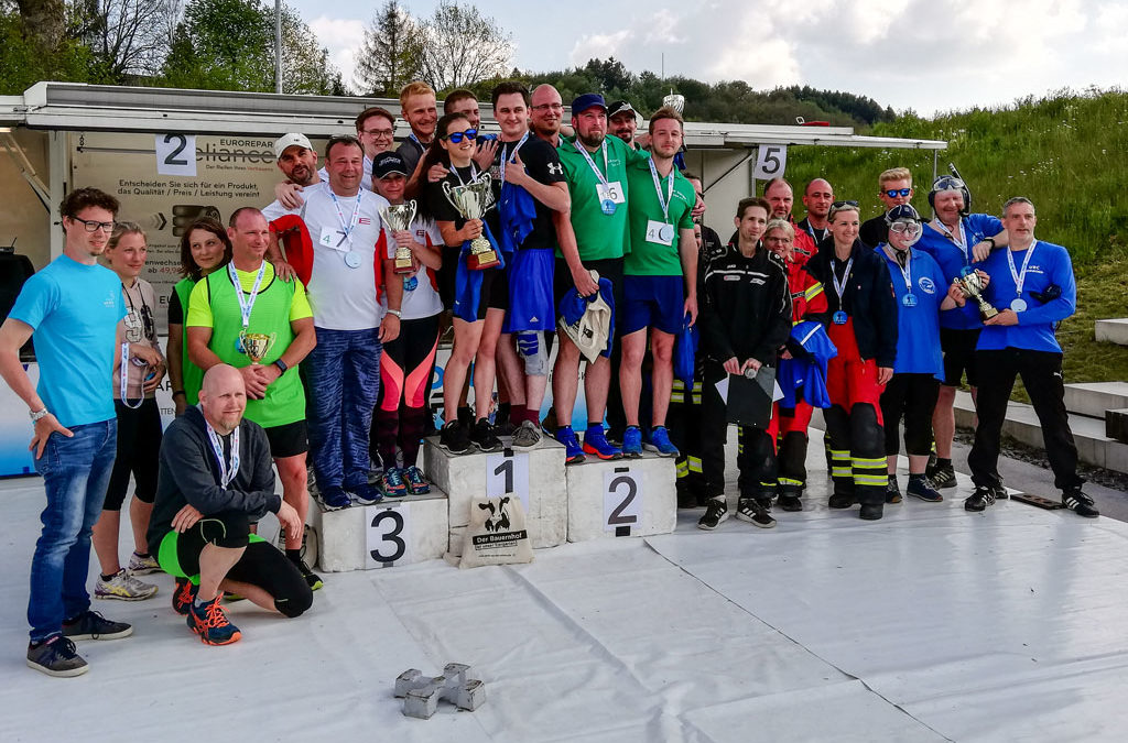 Biathlon-Event Oben an der Volme