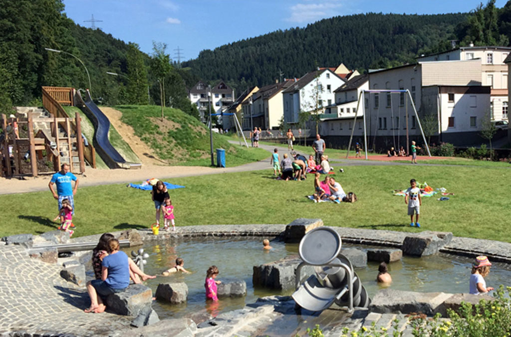 Vitales Zentrum Schalksmühle: Der  Volmepark wird zum Generationenpark