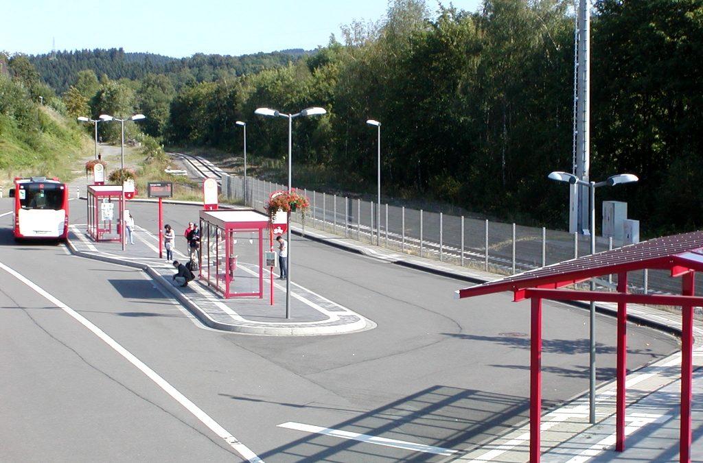 Verkehrsdrehscheibe – Zentraler Omnibusbahnhof (ZOB)